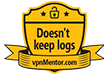 VPNMentor's Doesn't Keep Logs award